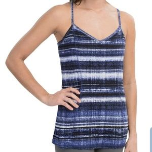 Athleta Blue Urban Explorer Tank 2 Size Large